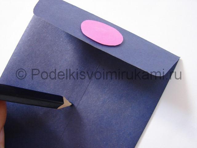 Как сделать конверт из бумаги. Фото 12.