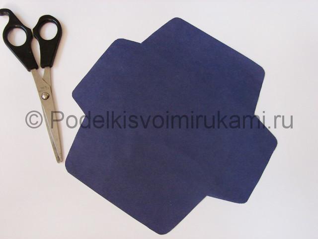 Как сделать конверт из бумаги. Фото 4.