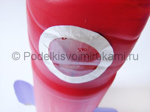 Как сделать ракету из пластиковой бутылки. Фото 15.