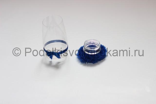 Как сделать шкатулку из пластиковой бутылки своими руками. Фото 5.