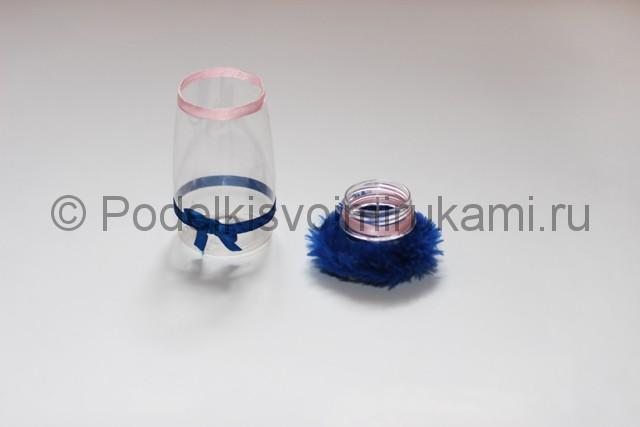 Как сделать шкатулку из пластиковой бутылки своими руками. Фото 8.
