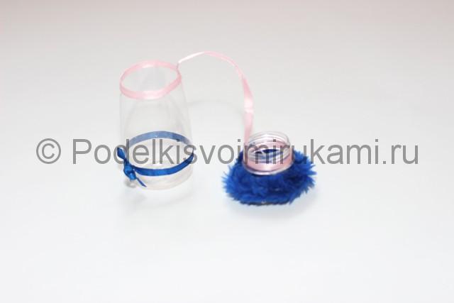 Как сделать шкатулку из пластиковой бутылки своими руками. Фото 9.