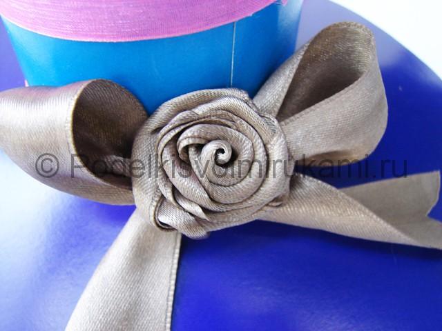 Как сделать шляпу из бумаги. Фото 26.