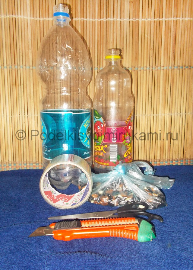 Кукла из пластиковых бутылок своими руками. Фото 1.