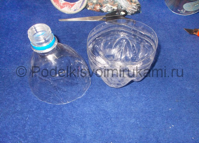 Кукла из пластиковых бутылок своими руками. Фото 2.