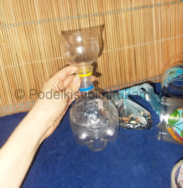 Кукла из пластиковых бутылок своими руками. Фото 4.