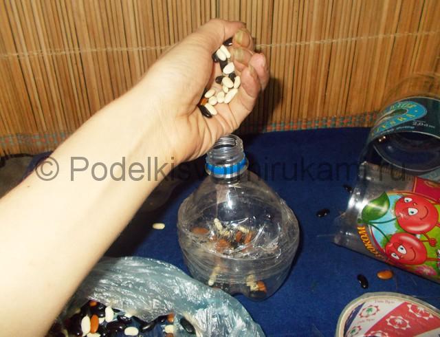 Кукла из пластиковых бутылок своими руками. Фото 5.