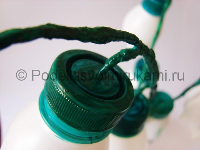 Ландыши из пластиковых бутылок. Фото 20.