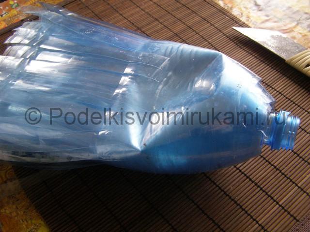 Метла из пластиковых бутылок своими руками. Фото 12.