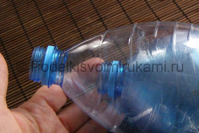 Метла из пластиковых бутылок своими руками. Фото 14.