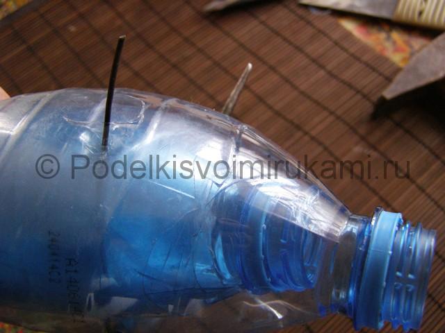 Метла из пластиковых бутылок своими руками. Фото 17.