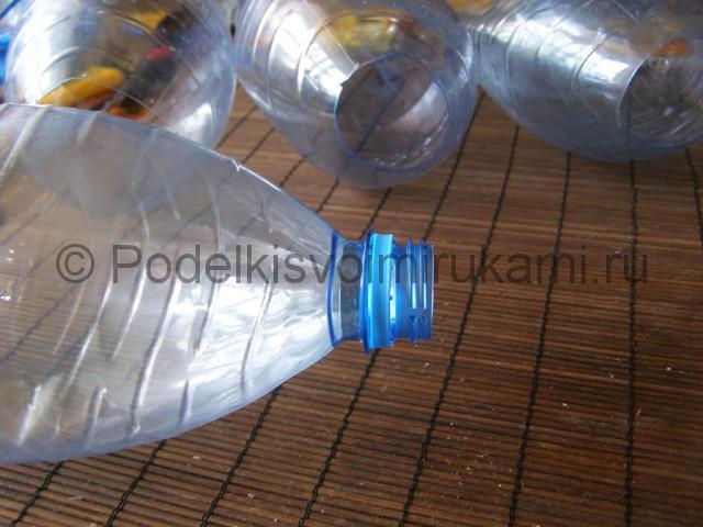 Метла из пластиковых бутылок своими руками. Фото 8.