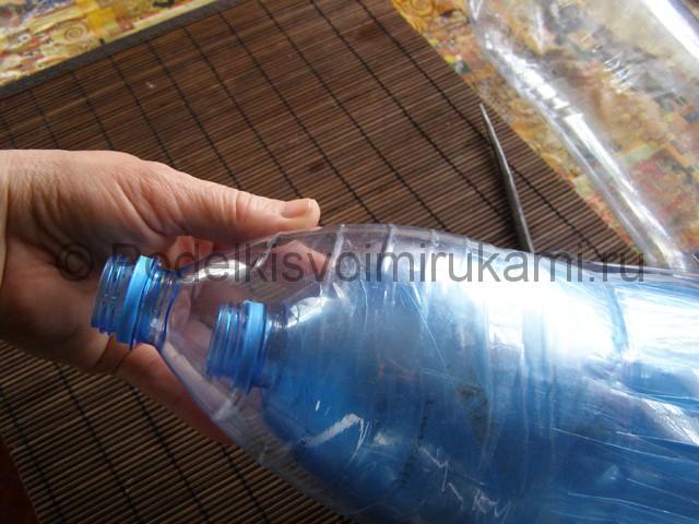 Метла из пластиковых бутылок своими руками. Фото 9.