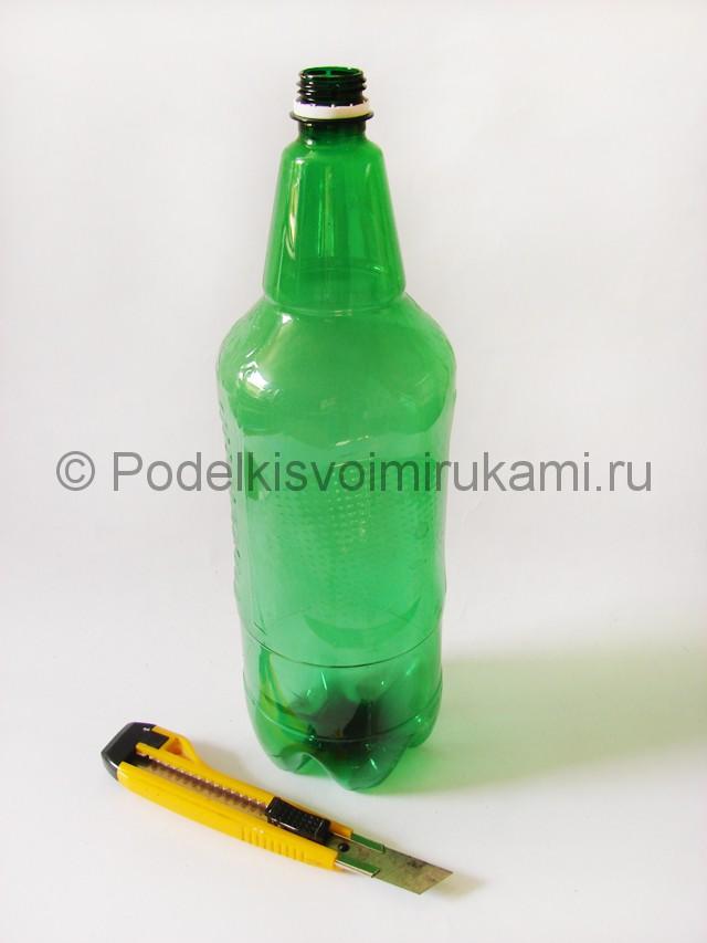 Пальма из пластиковых бутылок своими руками. Фото 11.
