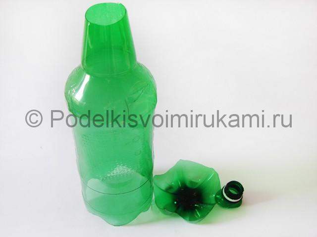 Пальма из пластиковых бутылок своими руками. Фото 12.
