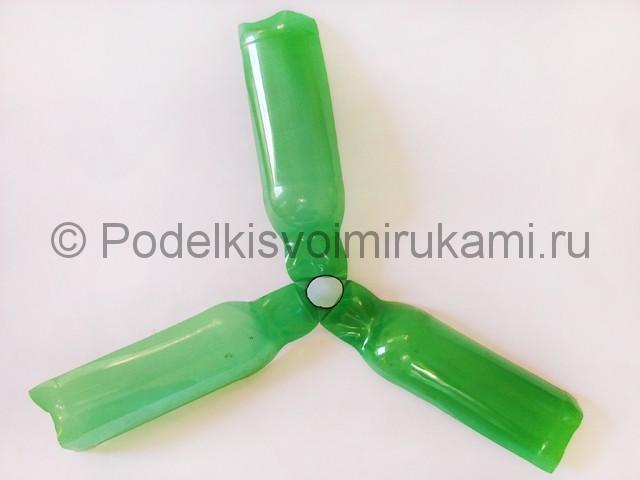 Пальма из пластиковых бутылок своими руками. Фото 14.