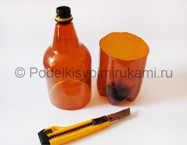 Пальма из пластиковых бутылок своими руками. Фото 3.