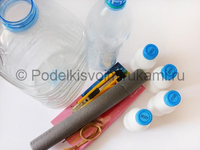 Слон из пластиковых бутылок своими руками. Фото 1.
