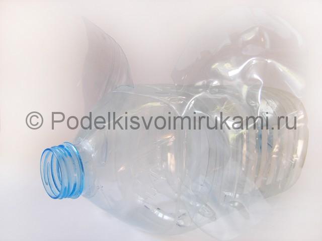 Слон из пластиковых бутылок своими руками. Фото 6.