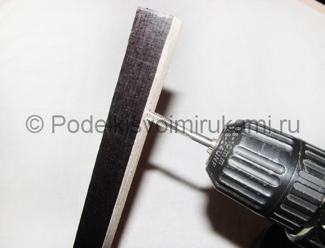 Станок для браслетов из резинок своими руками. Фото 7.