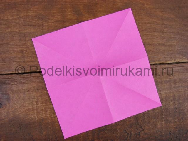 Поделка лилий из бумаги - фото 3.