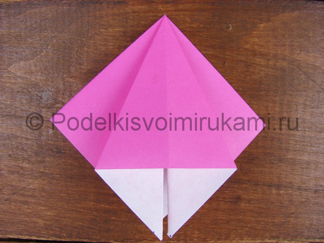 Поделка лилий из бумаги - фото 5.