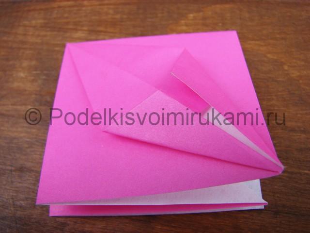 Поделка лилий из бумаги - фото 6.