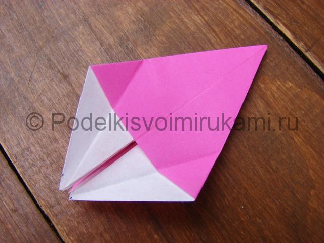 Поделка лилий из бумаги - фото 9.