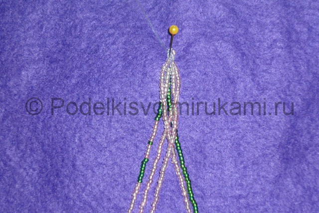 Плетение бус из бисера своими руками - фото 14.