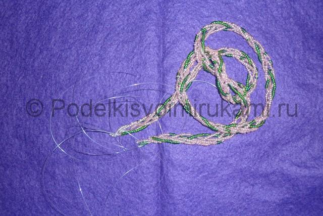 Плетение бус из бисера своими руками - фото 19.