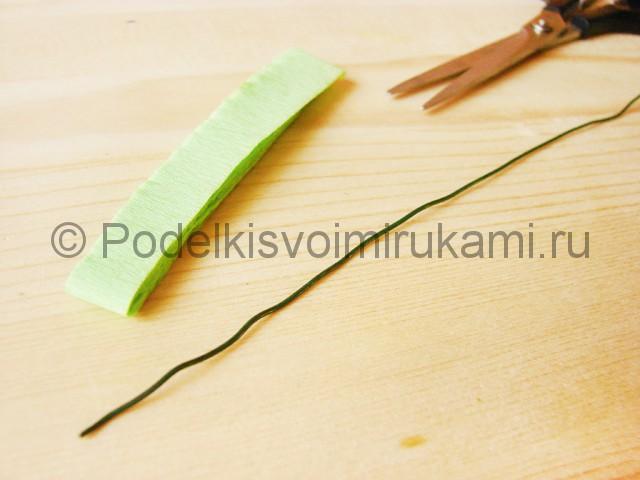 Изготовление георгин из бумаги - фото 2.