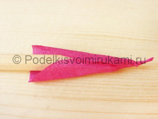 Изготовление георгин из бумаги - фото 20.