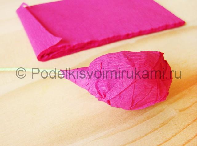 Изготовление георгин из бумаги - фото 7.