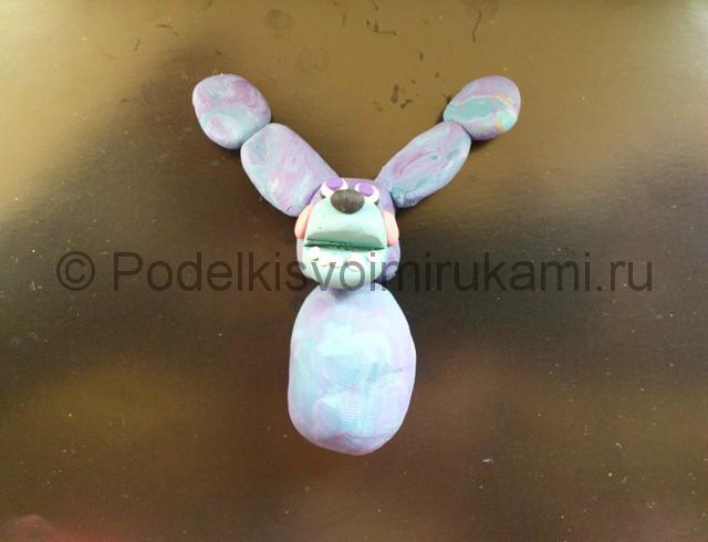 Лепка Бонни из пластилина - фото 6.