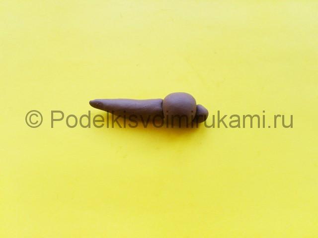 Лепка комара из пластилина - фото 4.