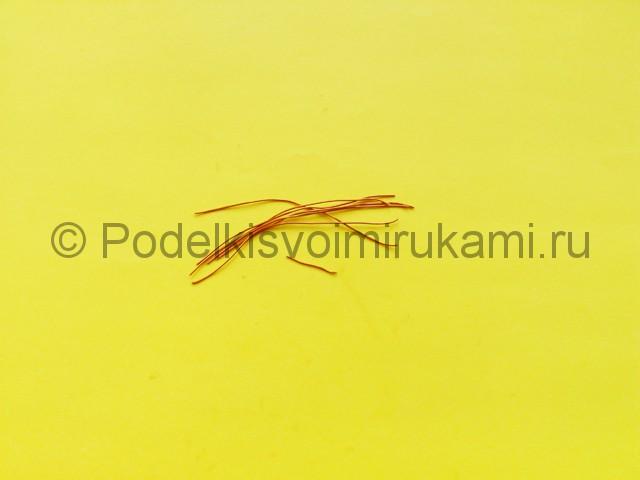 Лепка комара из пластилина - фото 6.