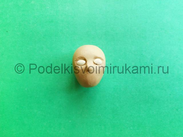 Лепка куклы Барби из пластилина - фото 2.