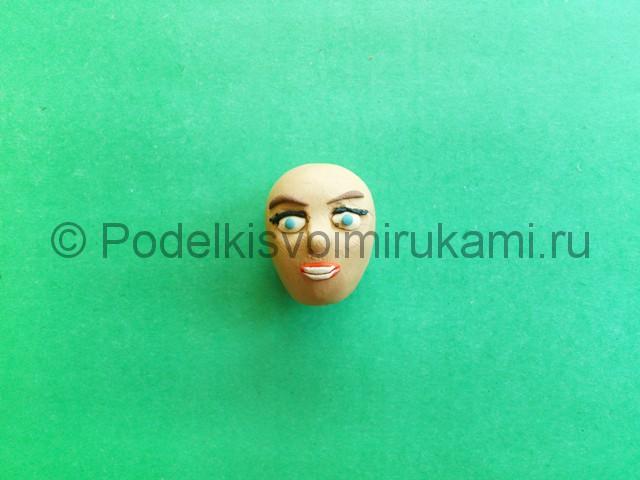 Лепка куклы Барби из пластилина - фото 4.
