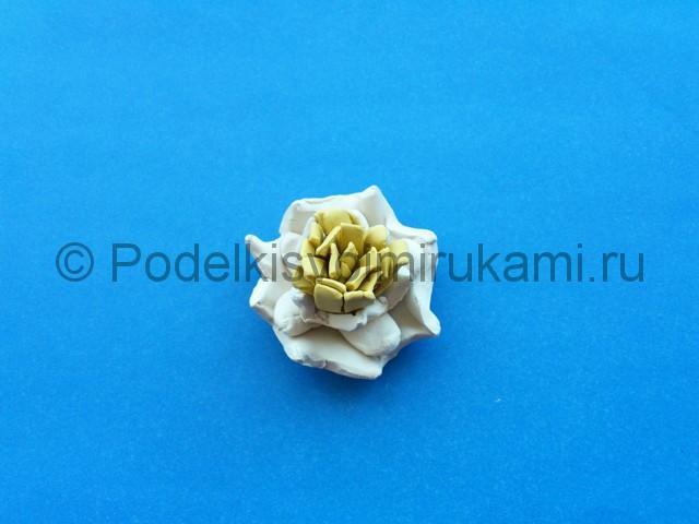 Лепка лилии из пластилина - фото 11.