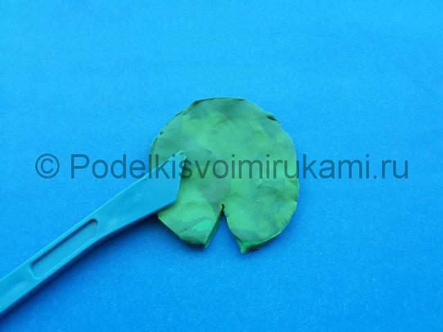 Лепка лилии из пластилина - фото 3.