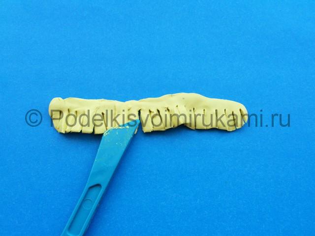 Лепка лилии из пластилина - фото 7.