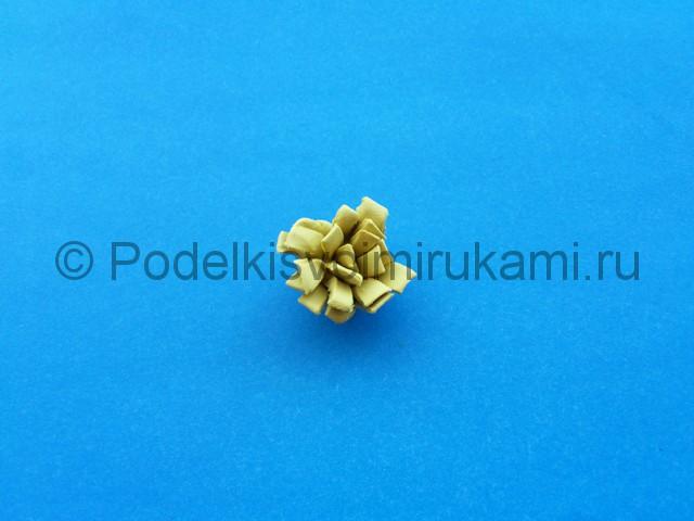 Лепка лилии из пластилина - фото 8.