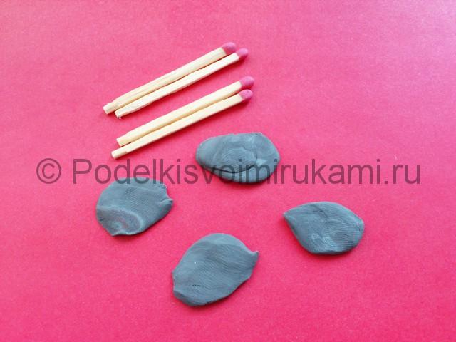 Лепка мангала из пластилина - фото 4.