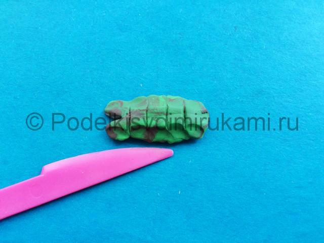 Лепка рака из пластилина - фото 5.