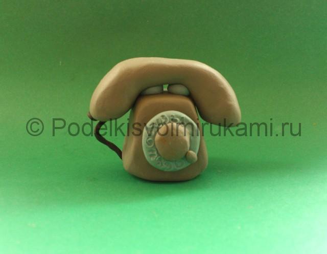 Лепка телефона из пластилина - фото 10.
