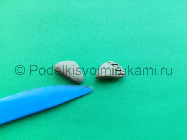 Лепка тюленя из пластилина - фото 7.