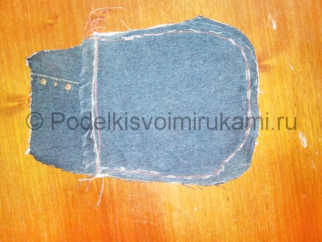 Шьём рюкзак из джинсовой ткани - фото 12.