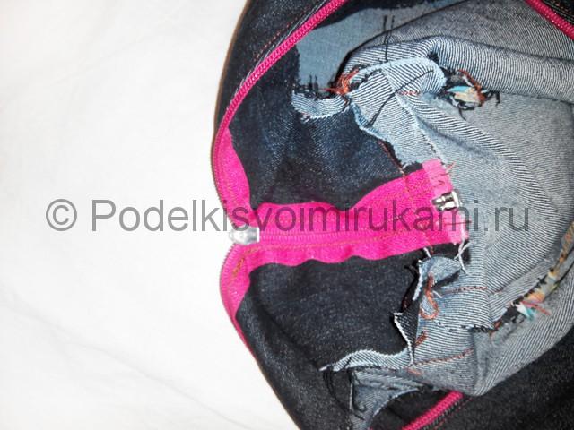 Шьём рюкзак из джинсовой ткани - фото 14.