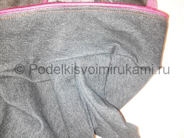 Шьём рюкзак из джинсовой ткани - фото 15.