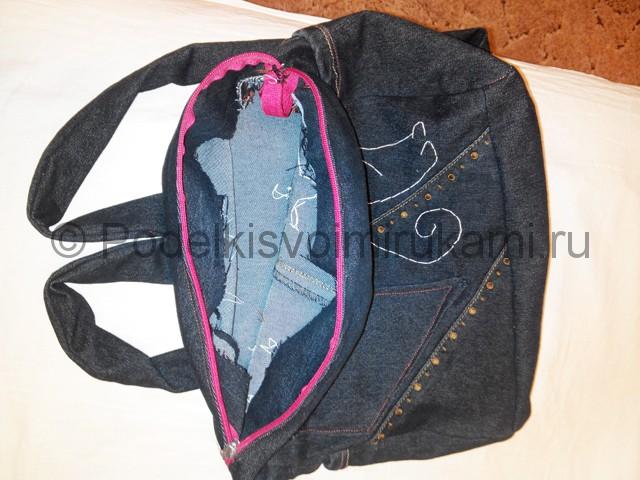 Шьём рюкзак из джинсовой ткани - фото 16.